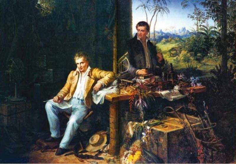 Alexander von Humboldt en el Amazonas
