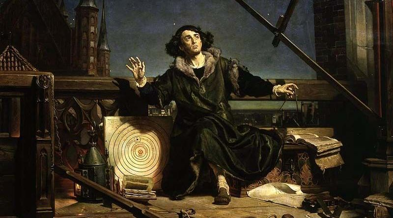 Astrónomo Copérnico, de Jan Matejko (1873)