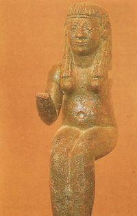 La diosa Astarté era de origen fenicio. Muy común en Tartessos