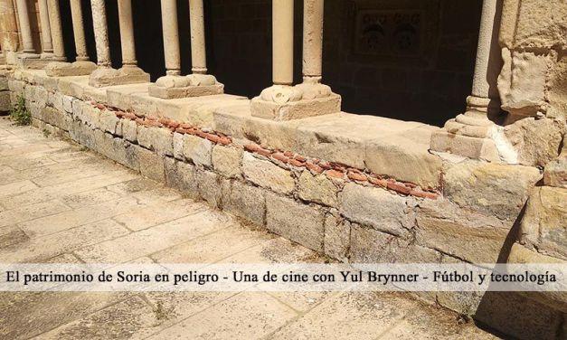 Patrimonio en peligro en Soria: La Concatedral de San Pedro