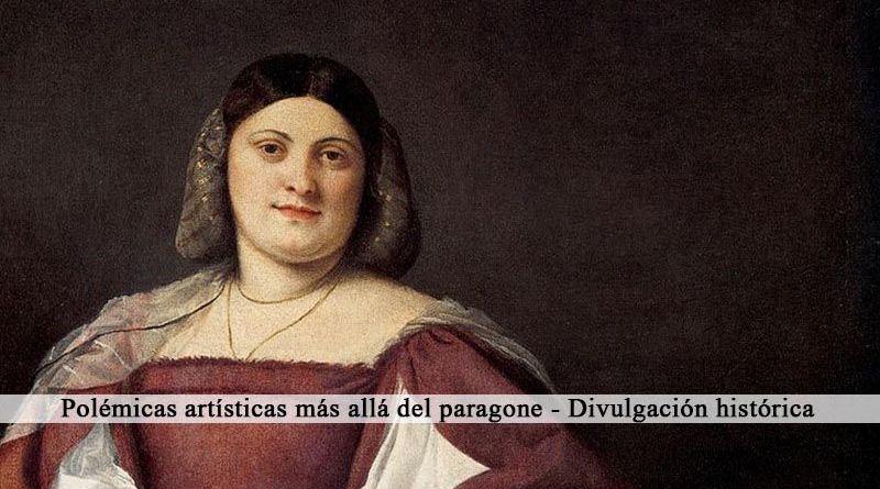 La Schiavona de Tiziano y el paragone