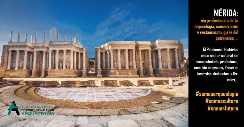 Sobre el papel de la arqueología en España