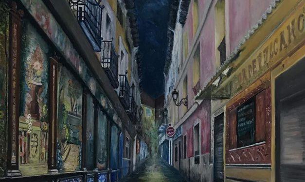 Pintura en Madrid – Micenas en llamas – Historia y videojuegos