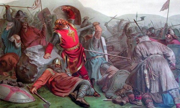 Olaf II, el Santo de Noruega – Muralismo asturiano