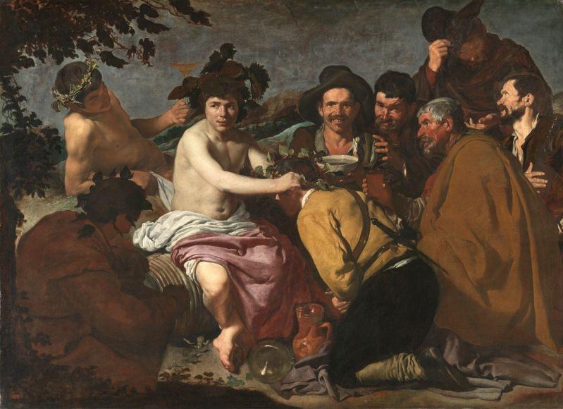 Los borrachos, o El triunfo de Baco (Velázquez, 1628-1629) (Museo Nacional del Prado, Madrid)