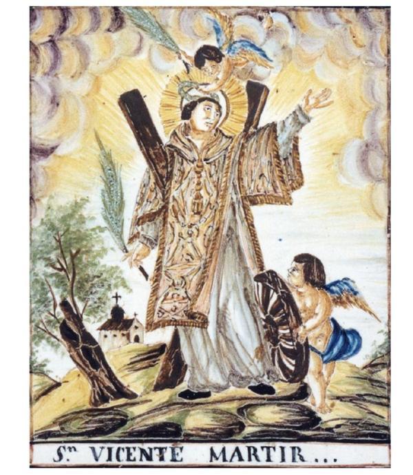 Iconografía cristiana-San vicente