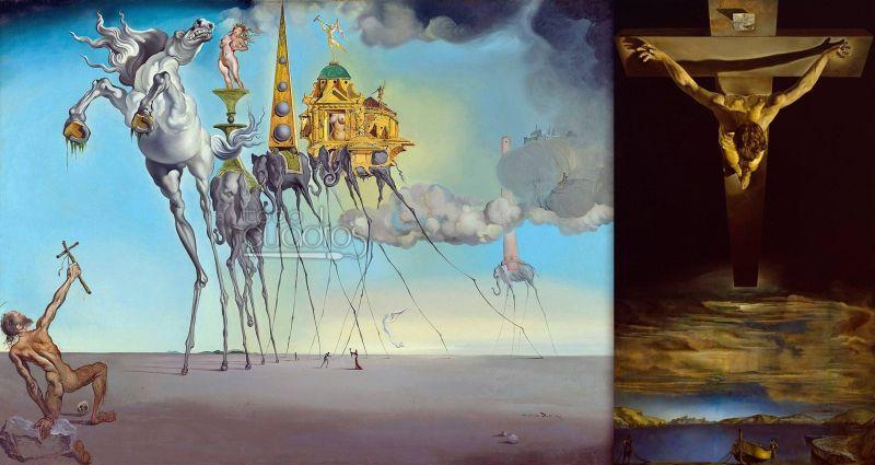 Dalí- Franquismo
