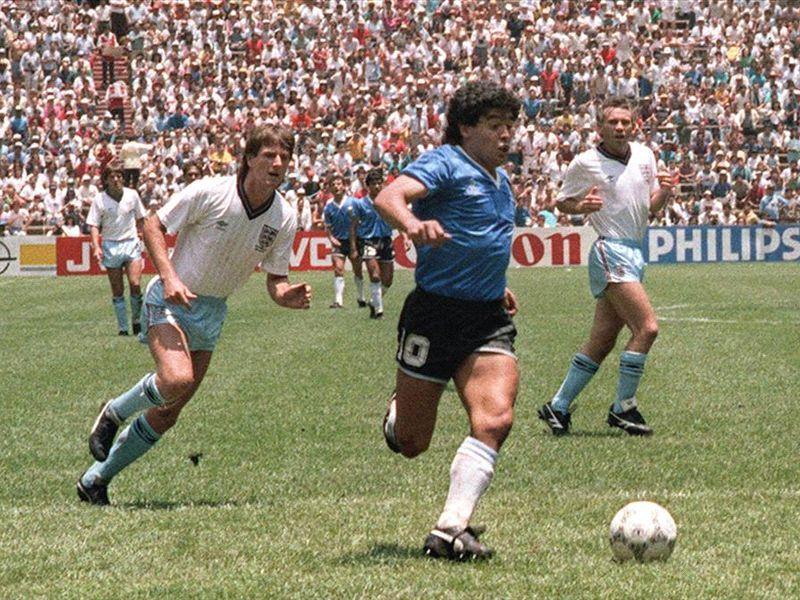 Maradona y el fútbol