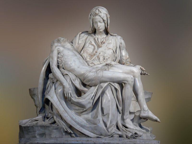Piedad- Vaticano_Miguel ángel-Escultura - renacimiento
