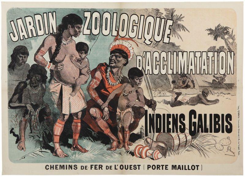 Jardín de Aclimatización - Zoológico humano en París