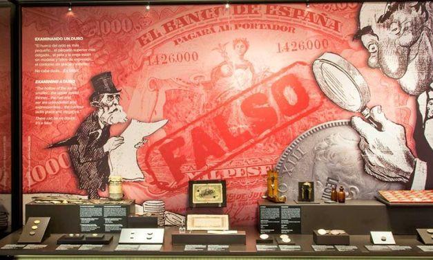 Historia de la falsificación de moneda