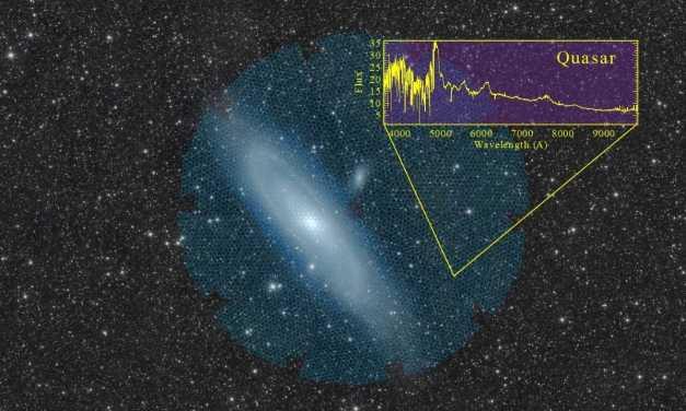 DESI, un telescopio para comprender la energía oscura