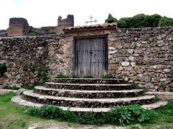 Escalinata del cementerio. Riópar Viejo.