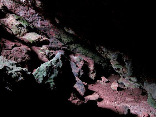 Interior de la Cueva de Montesinos