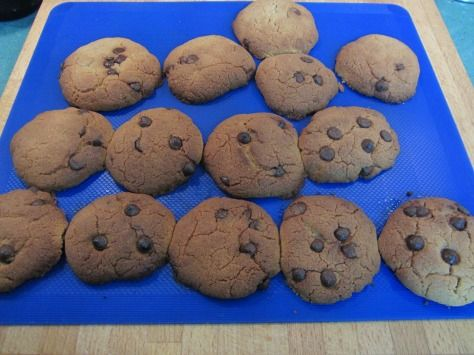 Cookies tradicionales de chocolate