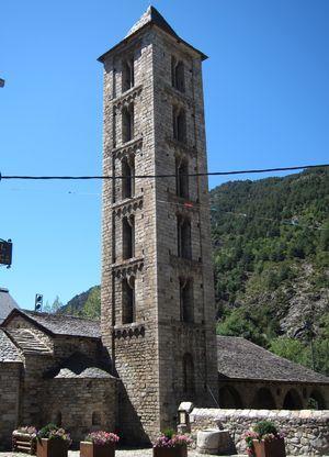 Iglesia de San Eulália. Erill La Vall