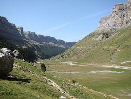 Faja de Pelay desde el Valle de Ordesa