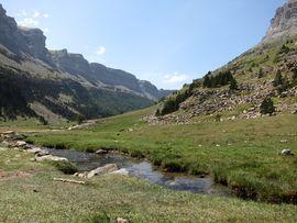 Río Arazas y la Faja de Pelay