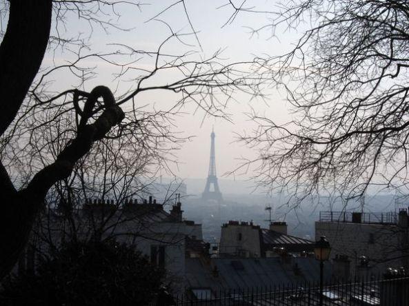 Torre Eiffel desde Montmartre