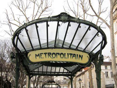 Parada de Metro de Abbesses