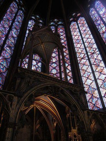 St-Chapelle. Paris