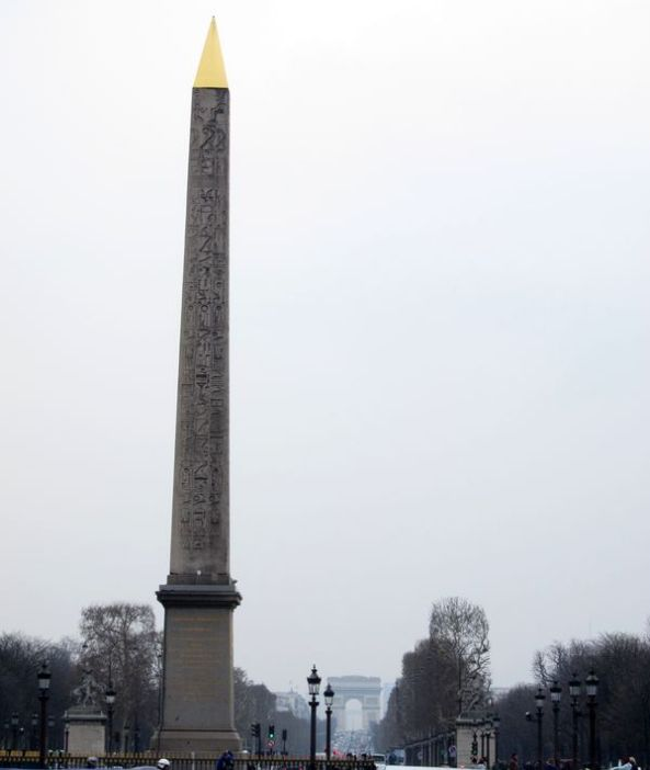 Arco del Triunfo desde la Plaza de la Concordia