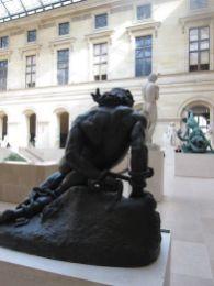 Patio de las Estatuas. Museo del Louvre. Planta Baja