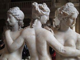 Las tres gracias. Museo del Louvre. Planta Baja