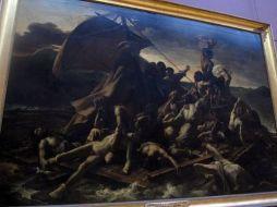 La Balsa de la Medusa. Museo del Louvre. Primera Planta.