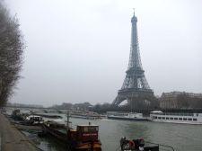 Torre Eiffel desde el Sena