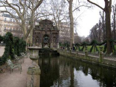 Fuente Medici. Jardín de Luxemburgo.
