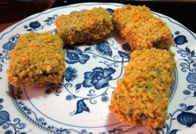 Crujientes de verdura con bechamel 15