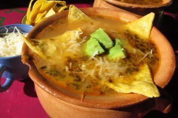 Sopa Azteca