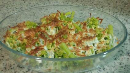 Brócoli gratinado. Por http://vidaenpositivo.org/