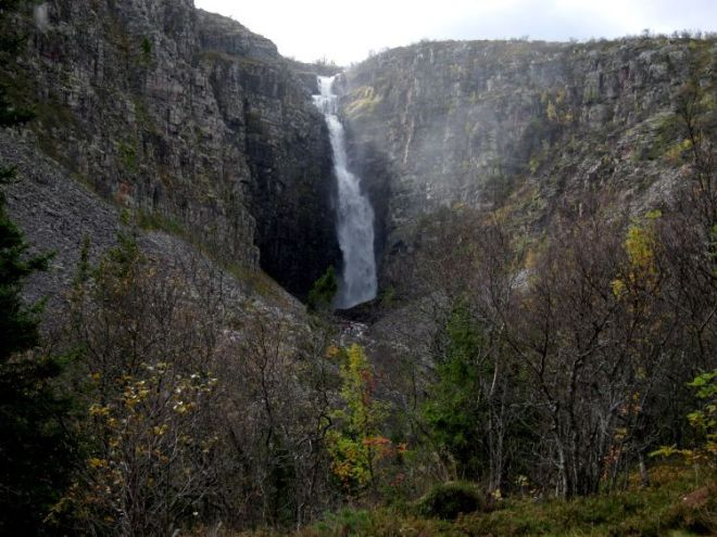 Cascada Njupeskär