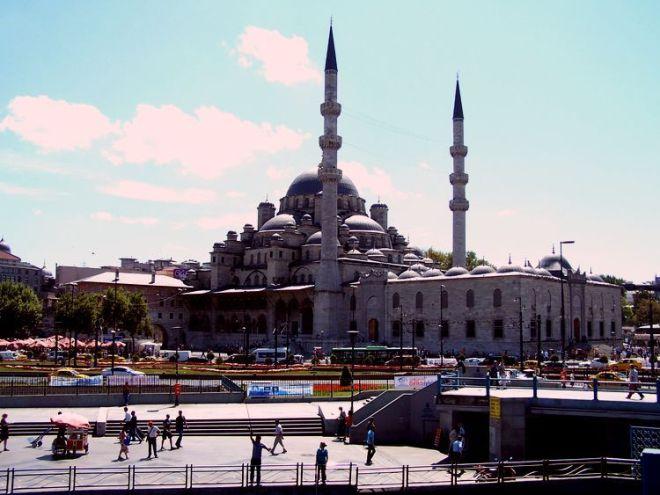 Yeni Camii desde Puente Galata