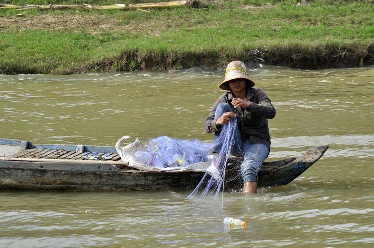 Viaje fluvial por el Tonlé Sap