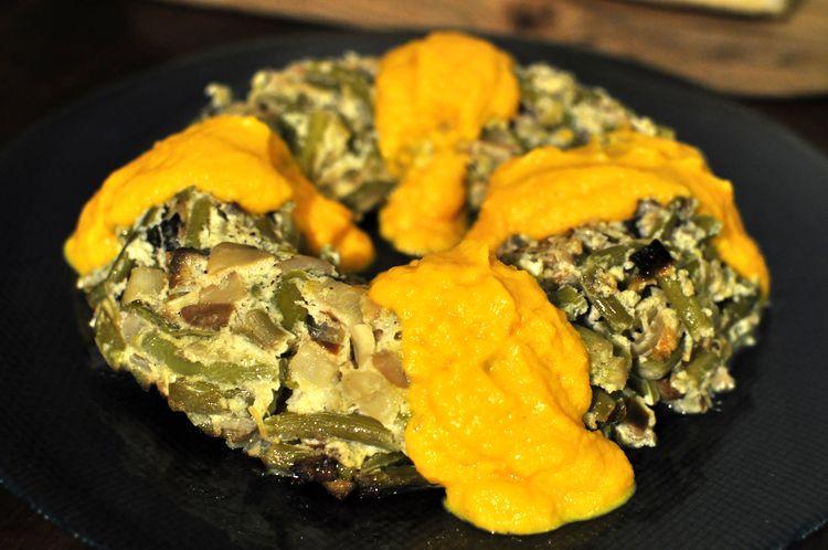 pastel-vegetal-de-ajetes-y-champiñones-10