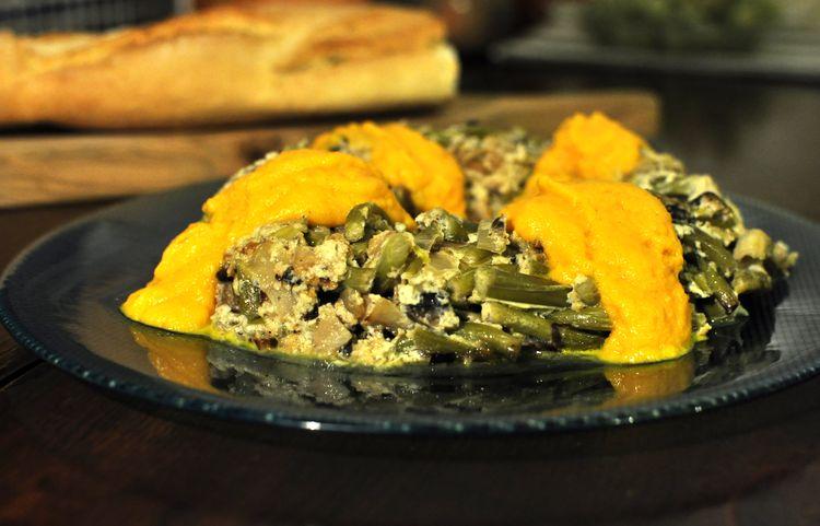 pastel-vegetal-de-ajetes-y-champiñones-12