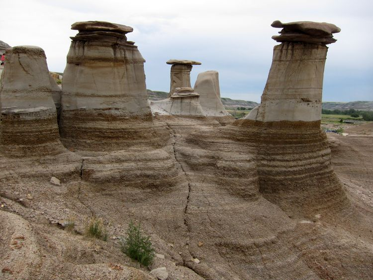 Badlands canadienses