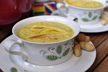 Sopa de maní (receta de Bolivia)