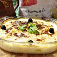 Bacalao con nata portugués (bacalhau com natas) 🇵🇹