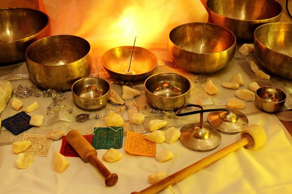 Yoga Nidra con cuencos tibetanos