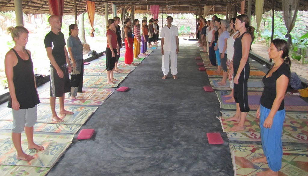 Yoga en Ingles con profesor nativo