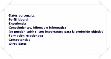 Orden del currículum