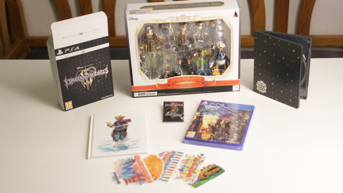 Unboxing – Kingdom Hearts 3 : Collector Edition