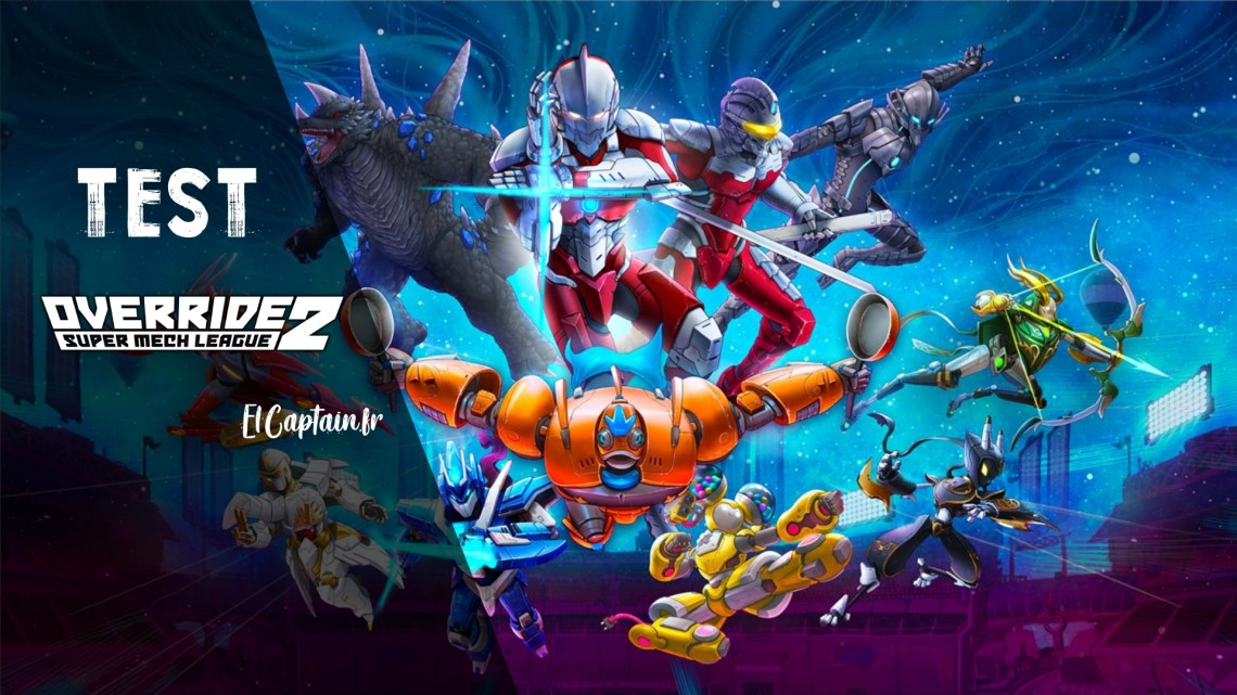 [Test] Override 2 : Super Mech League (Ultraman Deluxe Edition.)