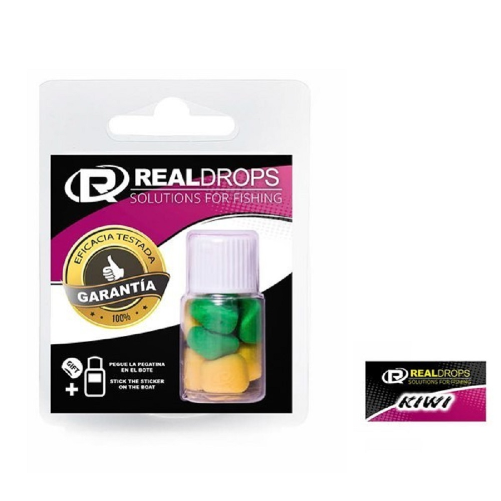 REAL DROPS MAIZ ARTIFICAL KIWI E L CARPODROMO