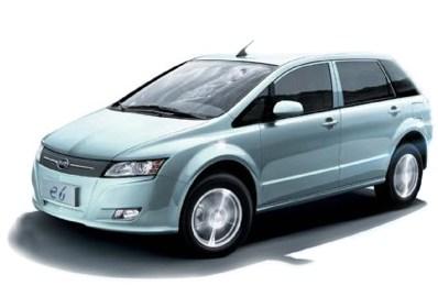 Электромобиль BYD E6