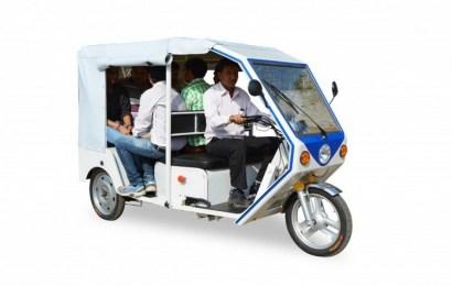 Электрорикша Terra Motors – «зелёный» транспорт для мегаполисов